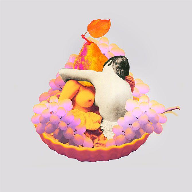 Pear & Grape Galettes by Georgie Thompson