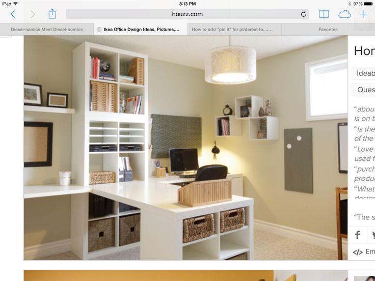 shaped desk