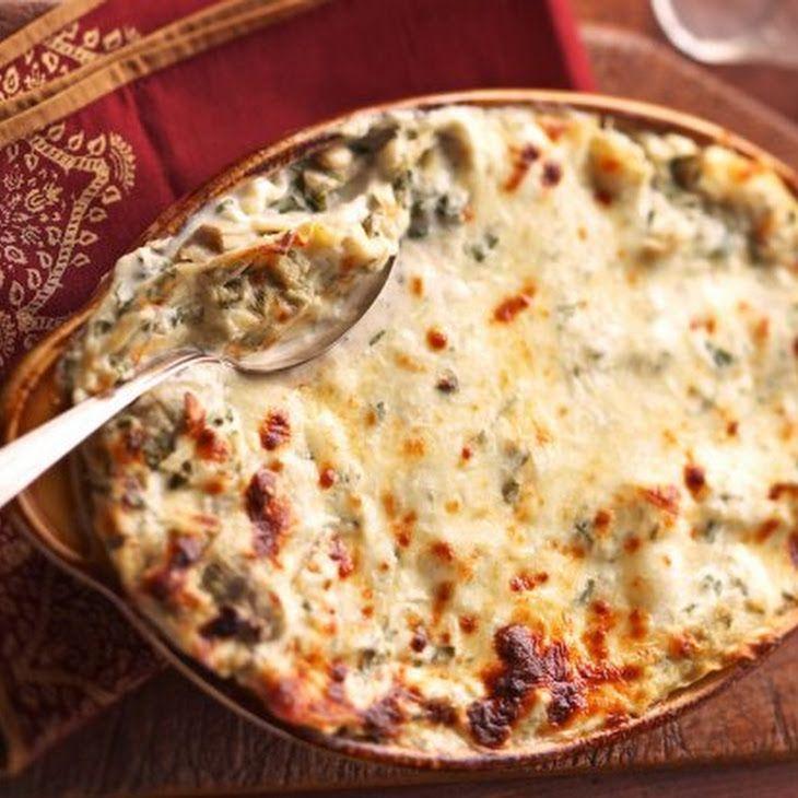 Creamy Artichoke Lasagna Bake Recipe (^_^)