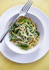 Asparagus And Ramp Pesto Pasta Recipes — Dishmaps