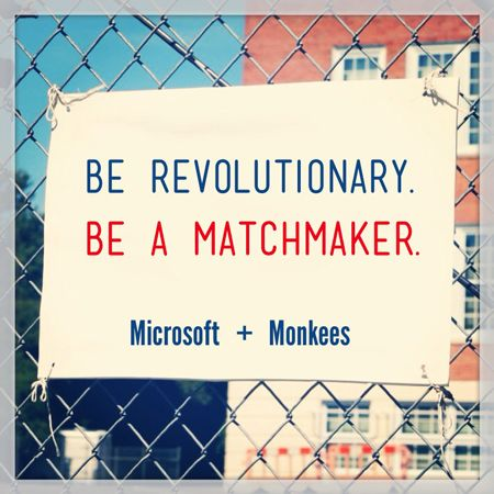 Be a Miracle Maker.  Be Revolutionary.  Introduce us.