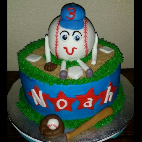baseball themed birthday cakes