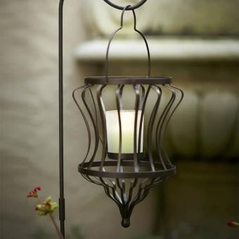 P91027 Modern Lines Hanging Votive Lantern by PartyLite® Candles CLEARANCE $10