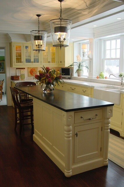 Narrow island a kitchen for us pinterest for Narrow kitchen island ideas
