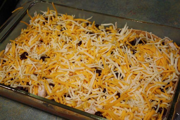 Skinny Chicken Enchilada Casserole | Skinny | Skinny Mom | How to get ...