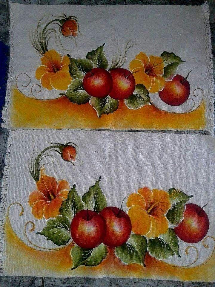 M s de 1000 im genes sobre pintura en tela en pinterest - Pintura en tela dibujos ...