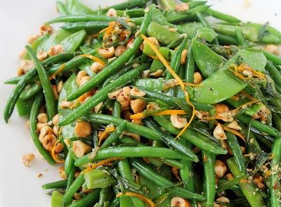 and green bean salad asparagus green bean and wax bean salad asparagus ...