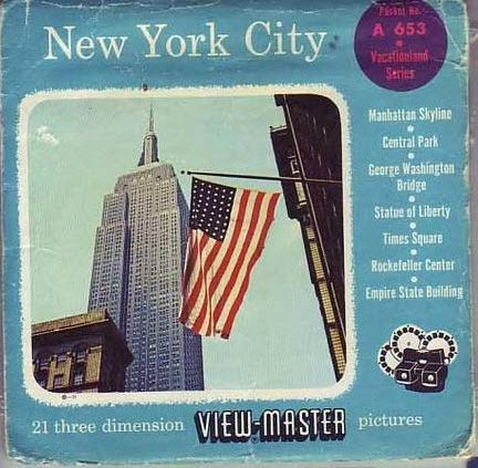View-Master Reel of New York City 1950s