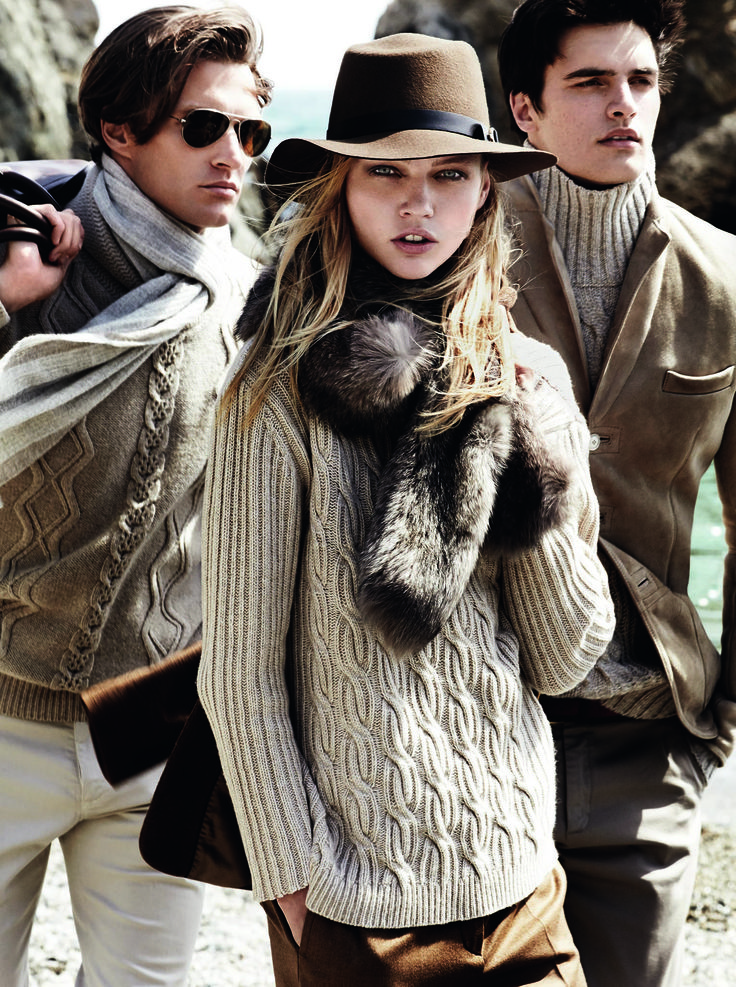 The Campaign - FW ' 14/15 Collection starring #SashaPivovarova, #ShaunDeWet & #MathewTherry by Mario Testino #massimodutti #fwcollection