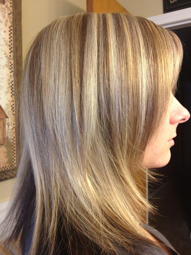 Foiled blondes hair | #hair! | Pinterest