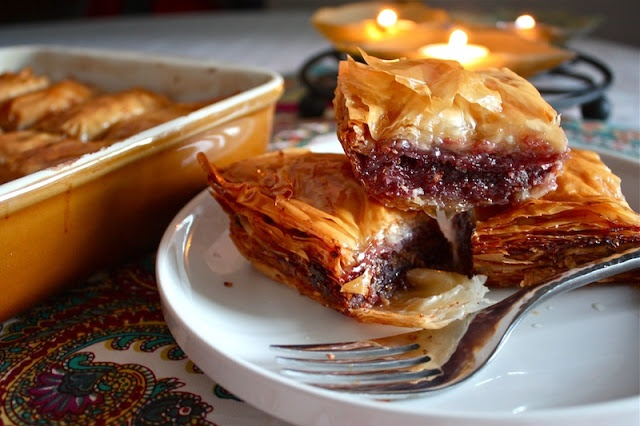 Cherry Almond Baklava - Country Cleaver