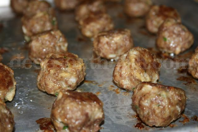 Basic Homemade Meatballs - A great, no-frills, meatball that can be ...