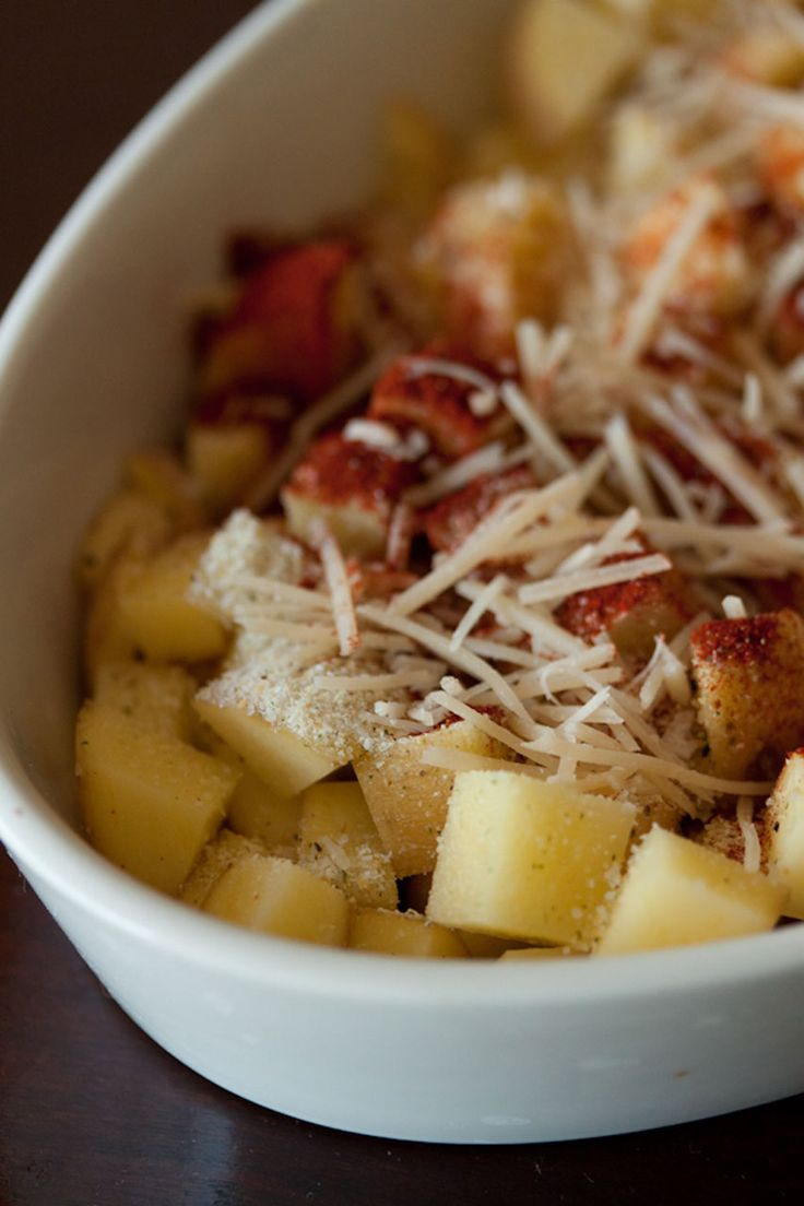 Parmesan Roasted Potatoes Recipe