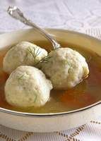 ... but one of my Delicious Favorites....Chicken soup with matzah balls