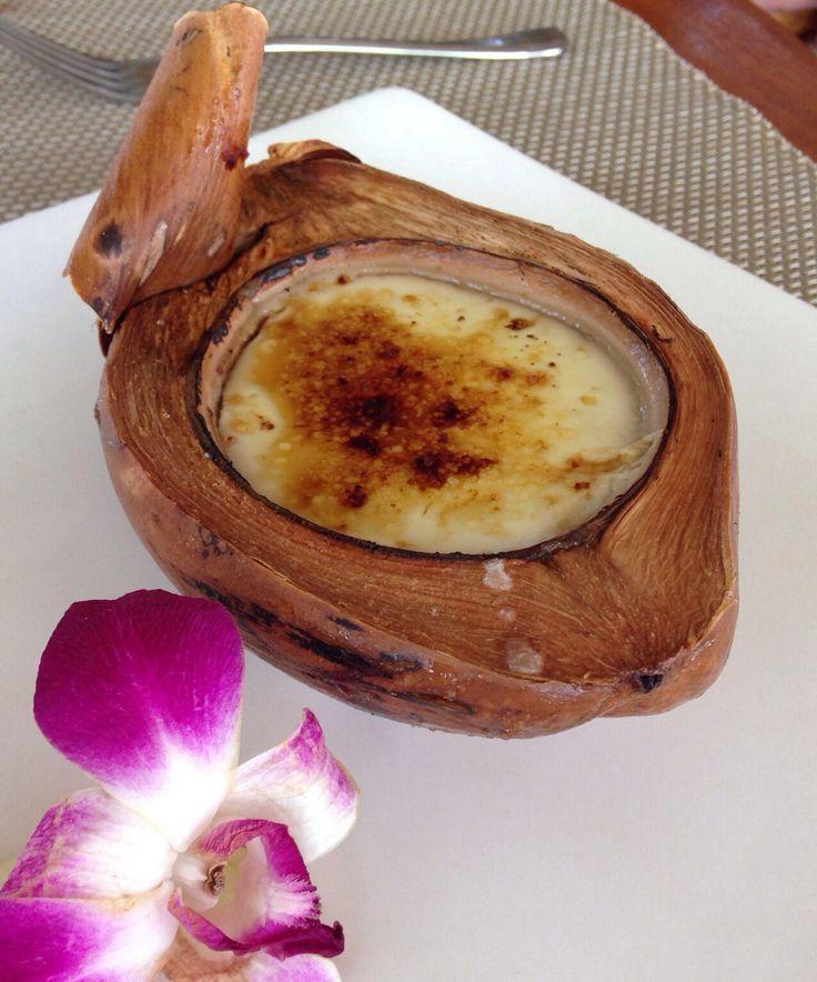 Coconut creme brulee | Cremes Brulees | Pinterest