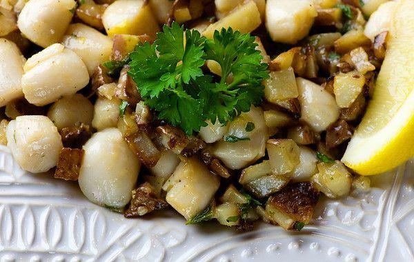 Bay Scallops Gremolata | Recipe