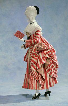 Robe à langlaise (retrousée dans les poches)French | 1780Silk | Kyoto Costume Institute