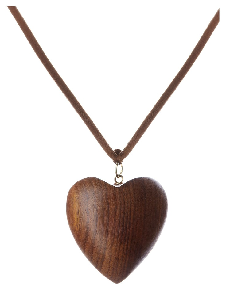 wooden pendant necklace george at asda