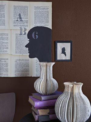 Paper Vases