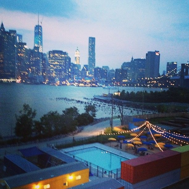 Pop Up Pool At Brooklyn Bridge Park Inspiring Streets Pinterest