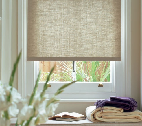 Sheer window shades 2017 grasscloth wallpaper for Linen shades window treatments