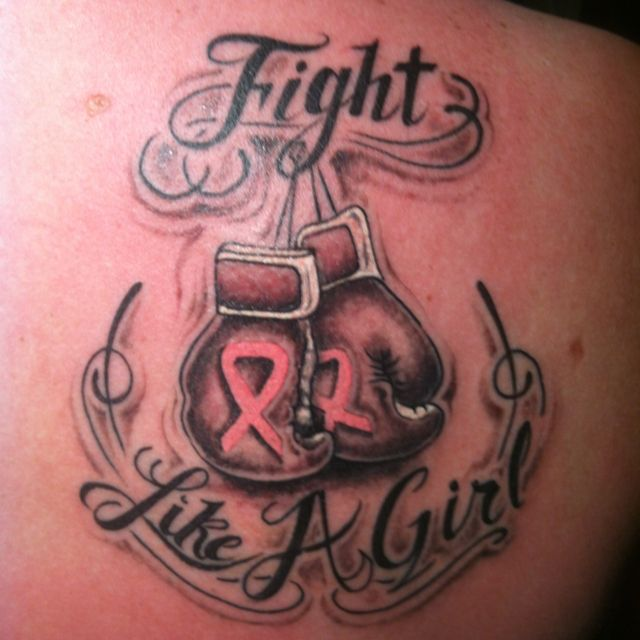 1000 ideas about pink ribbon tattoos on pinterest for Fight like a girl tattoos pictures