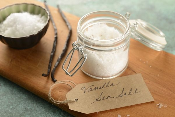Vanilla Sea Salt - Fragrant and lightly salty without being ...