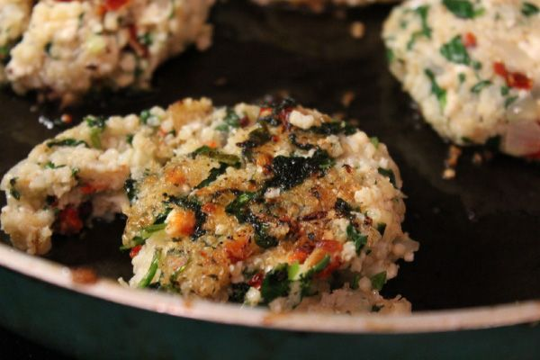 Millet Burgers With Olives, Sun-Dried Tomatoes, And Pecorino Recipes ...