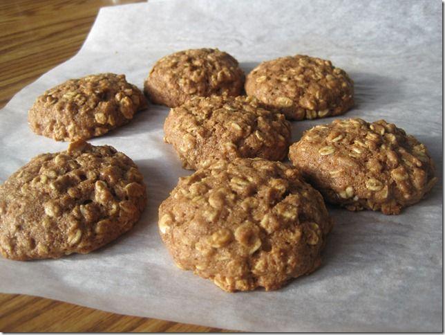 Whole Wheat Oatmeal Cookies | Cookies | Pinterest
