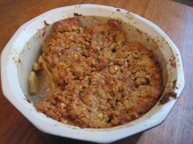 Until The Thin Lady Sings: Apple Cobbler - Waste Not Want Not