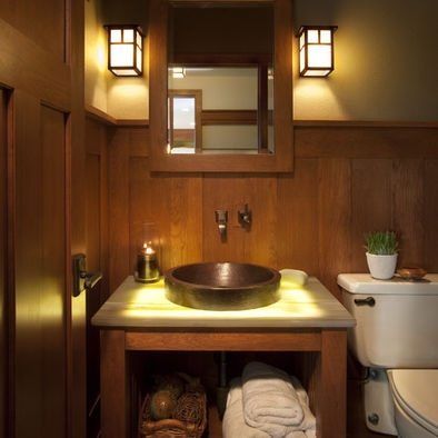 Craftsman style bathroom bathroom ideas pinterest for Craftsman style bathroom design ideas
