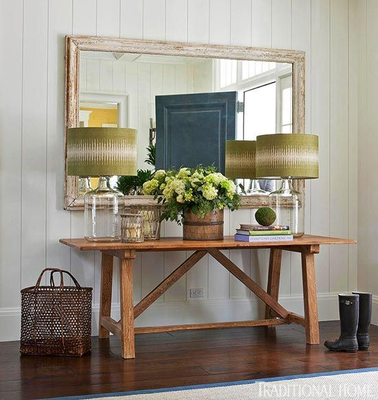 Entry table living roomentry area pinterest