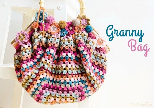crochet / granny bag Purses and Bags Pinterest