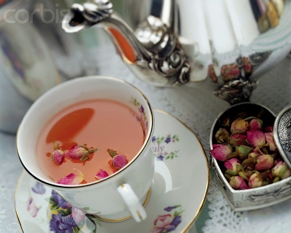 rose petal tea | Pretty pretty pretty | Pinterest