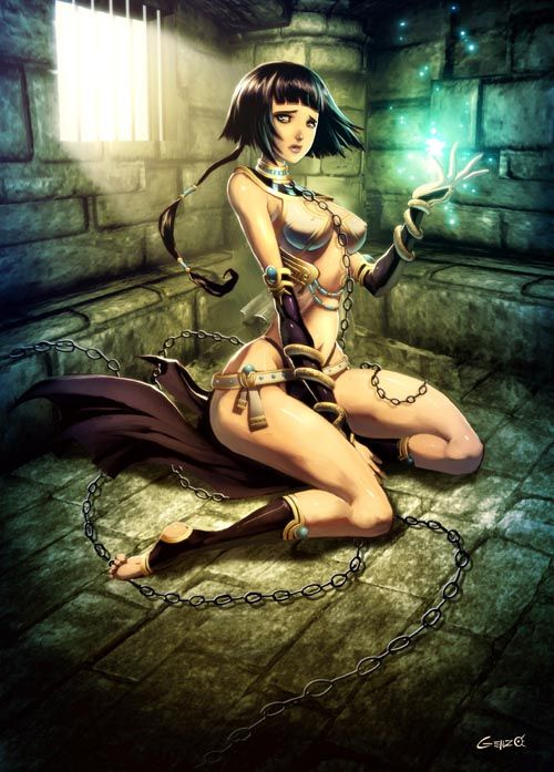 Haquika by *GENZOMAN She was a egypt priestess, trapped ...