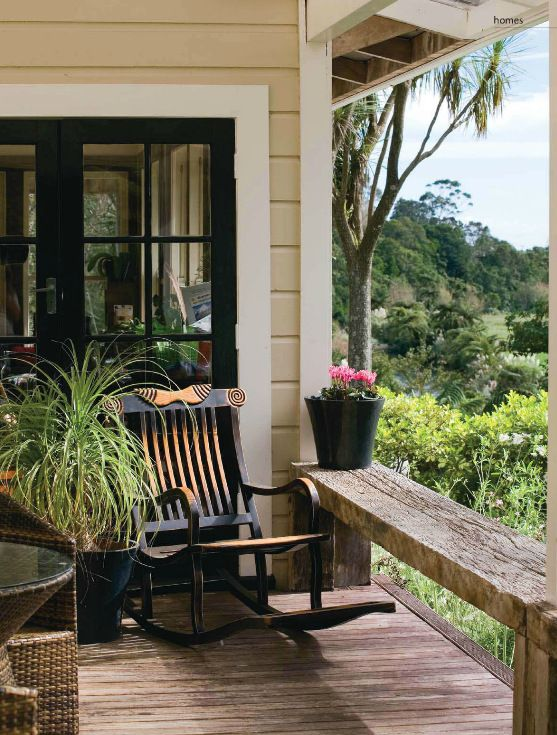 Country style porch outdoor living porchs pinterest for Country style porch