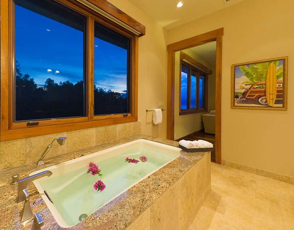 Tropical decorating ideas for bathroom ideas for the for Tropical bathroom ideas