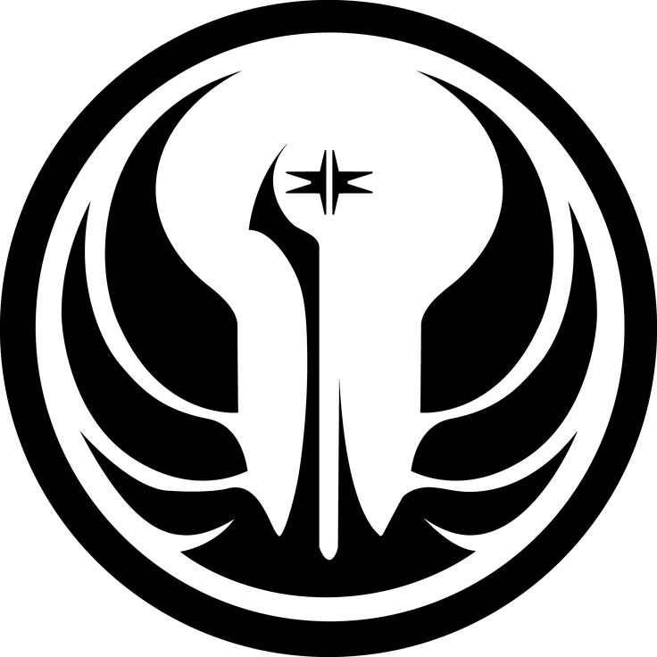Star Wars Galactic Republic logo stencil | Z- Star Wars ...