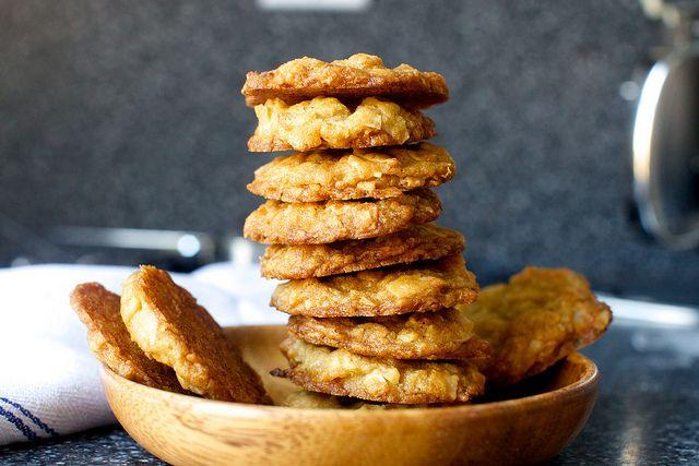 coconut brown butter cookies by smitten kitchen