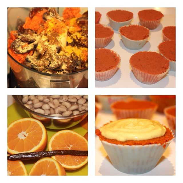 Raw Vegan Cupcakes | Yum | Pinterest