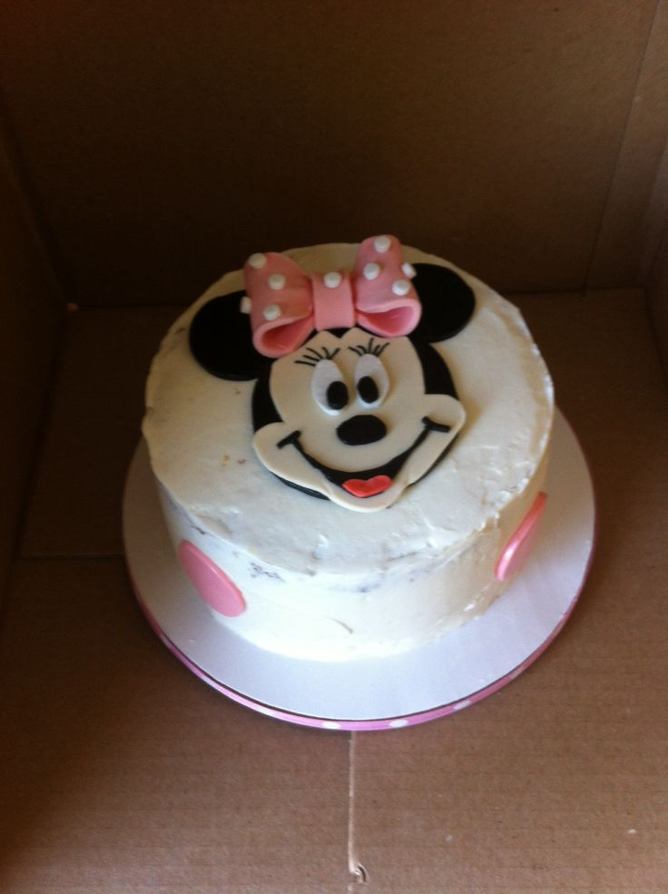 Minnie Mouse smash cake | https://www.facebook.com ...