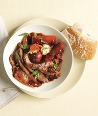 Slow-Cooker Coffee-Braised Brisket With Potatoes and Carrots- featured ...