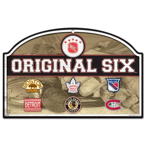 Original Six bar sign