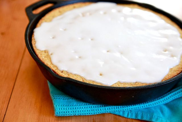 ... make a donut run. Joy the Baker – Lemon Cornmeal Breakfast Cake