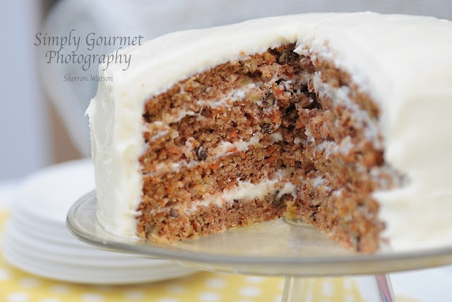 Carrot Cake…This cake has coconut, pecans and pineapple with the ...