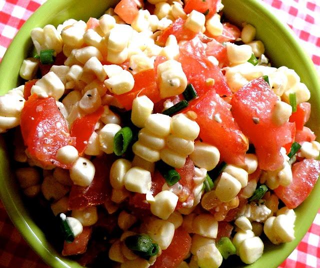 Summer Corn Salad | mmm... | Pinterest