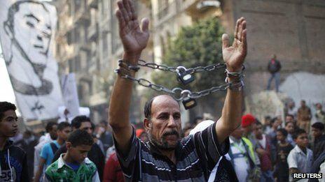 Egypt islamists call off protest bbc