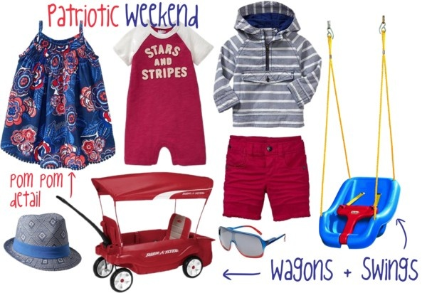 memorial day baby clothes