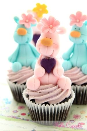 Adorable teddy bears by bella cupcakes by rose
