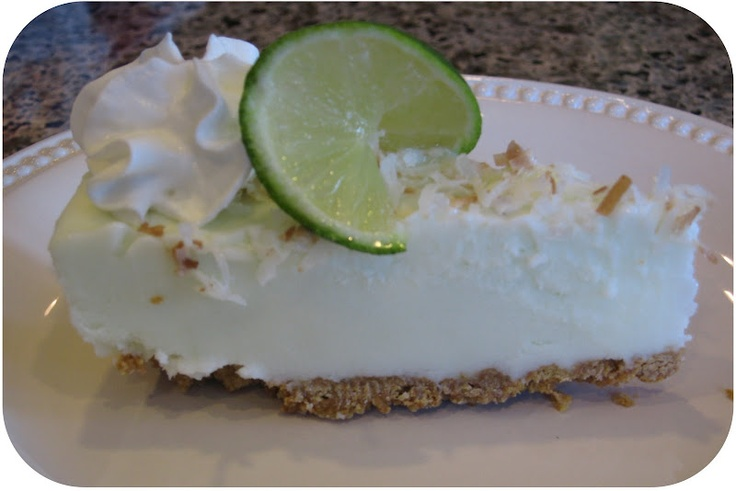 FROZEN COCONUT AND KEY LIME SHERBERT PIE | Cakes, Pies and Pastries ...